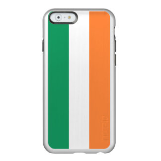 Flag of Ireland Silver iPhone Case