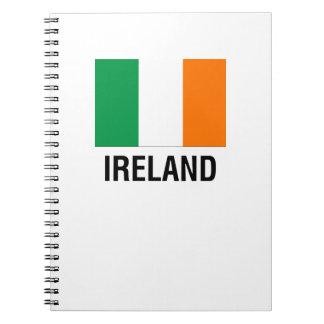 FLAG of IRELAND Spiral Notebook