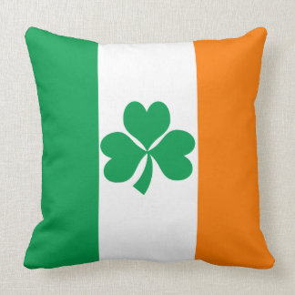 Flag of Ireland Throw Pillow