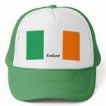 Flag of Ireland Truckers Mesh Cap