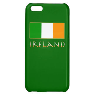 Flag of Ireland with Green Background iPhone 5C Cover