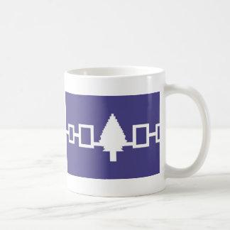 Flag of Iroquois Confederacy Classic White Coffee Mug