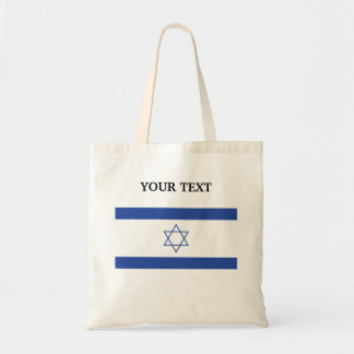 Flag of Israel Budget Tote Bag