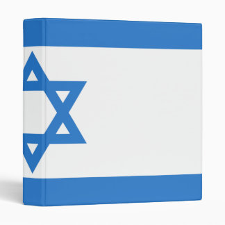 Flag of Israel Binder