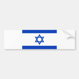 Flag of Israel Bumper Stickers