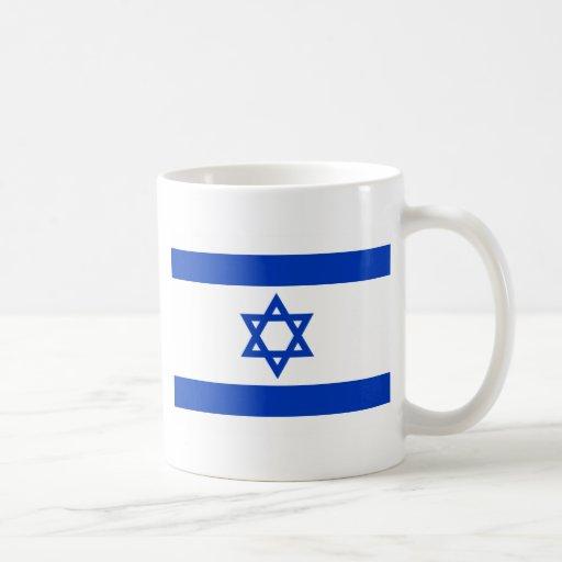 Flag of Israel Classic White Coffee Mug