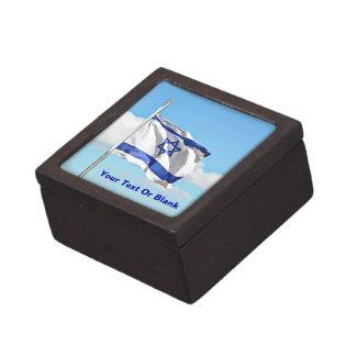 Flag Of Israel Keepsake Box