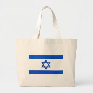 Flag of Israel Large Tote Bag