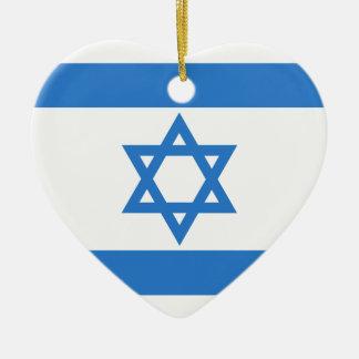 Flag of Israel Ornaments