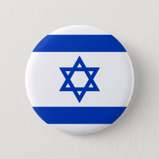 Flag of Israel Pinback Button