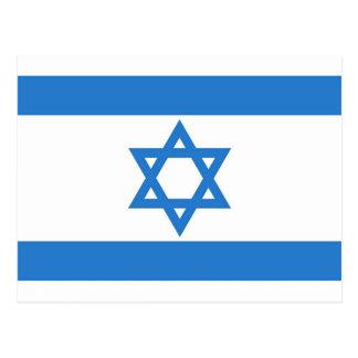 Flag of Israel Postcard