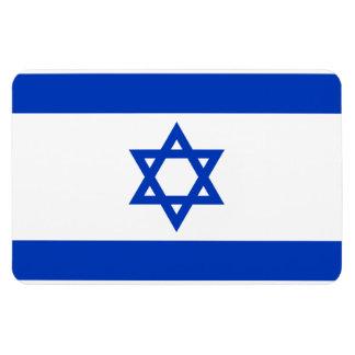 Flag of Israel. Rectangular Photo Magnet
