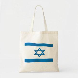 Flag of Israel Star of David Tote Bag