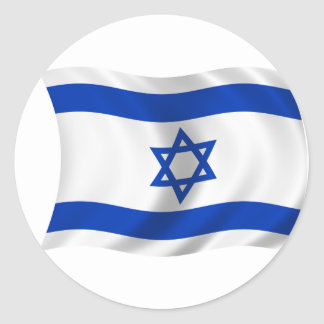 Flag of Israel Stickers