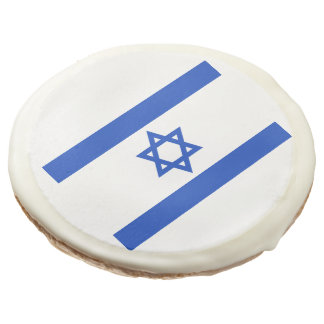 Flag of Israel Sugar Cookie