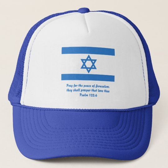 Flag of Israel, Trucker Hat