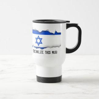 Flag of Israeli Travel Mug