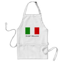 Flag of Italy Adult Apron