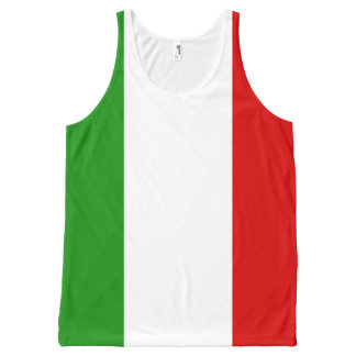 Flag of Italy All-Over-Print Tank Top