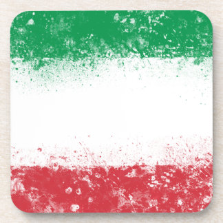 Flag of Italy Beverage Coaster