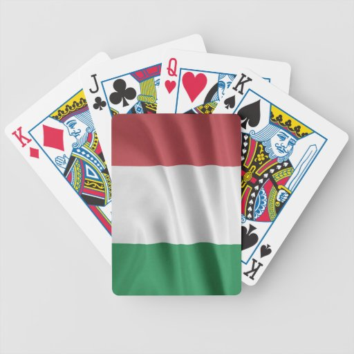 Flag of Italy Bicycle Poker Deck