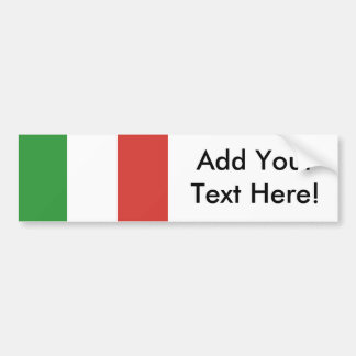 Flag of Italy Bumper Sticker