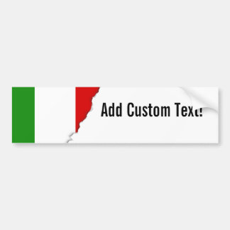 Flag of Italy Bumper Sticker