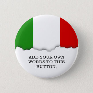 Flag of Italy Button