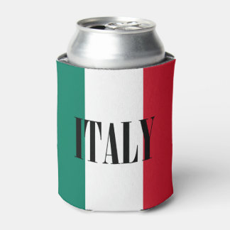 Flag of Italy Can Cooler