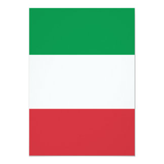 Flag of Italy Card