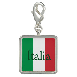 Flag of Italy Charms