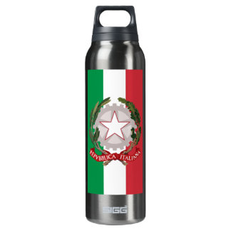 Flag of Italy Coat of Arms Liberty Drink Bottle SIGG Thermo 0.5L Insulated Bottle