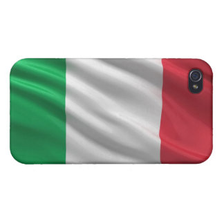Flag of Italy Covers For iPhone 4
