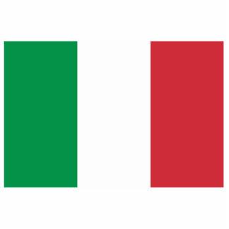Flag of Italy Cutout