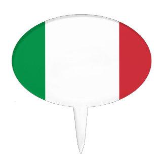 Flag_of_Italy Decoración Para Tarta