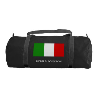 Flag of Italy Duffle Bag