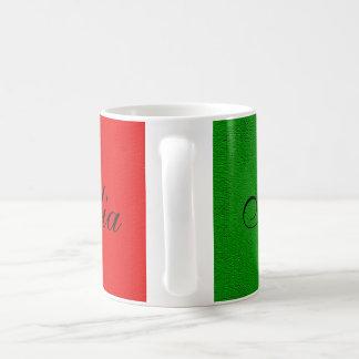 Flag of Italy. i love italy. Coffee Mug