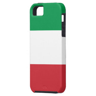 Flag of Italy iPhone 5 Case-Mate Tough™