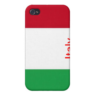 Flag of Italy iPhone 4/4S Covers