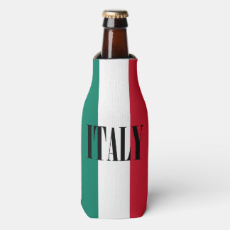 Flag of Italy Italia Italian Bottle Cooler