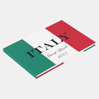 Flag of Italy Italia Italian Guest Book