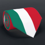"""Flag of Italy Italia Italian Il Tricolore Tie<br><div class=""""desc"""">The current Italian flag consists of three equal vertical bands of color – green, white, and red. This kind of flag is known as a tricolor design. In Italian the flag is known as Il Tricolore. The modern flag of Italy wasn't made the country's official flag until 1948, but the...</div>"""