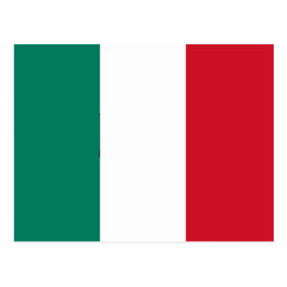 Flag of Italy Italia Italian Postcard
