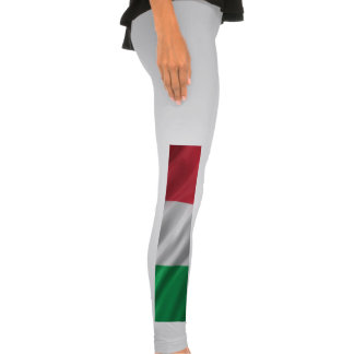 Flag of Italy Legging Tights