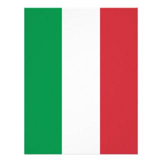 Flag of Italy Letterhead
