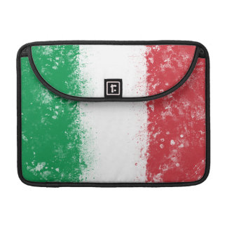 Flag of Italy Sleeves For MacBook Pro