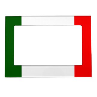 Flag of  Italy Magnetic Frame