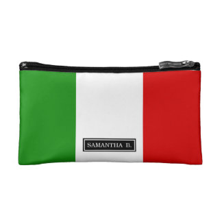 Flag of Italy Makeup Bag