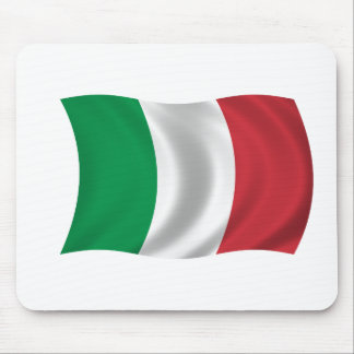 Flag of Italy Mouse Pads