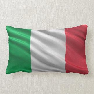 Flag of Italy Throw Pillow